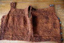 knitting baby vest