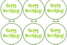 Ballons / Birthday Balloons