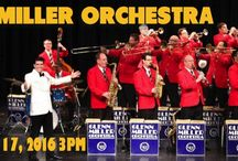 GLENN MILLER ORCHESTRA at The Newton Theatre / The quintessential Glenn Miller Orchestra, one of the greatest big bands of all time, has been entertaining audiences since the 1930s. They are known for their innovative sound, record-breaking hits and timeless songs like In the Mood, Moonlight Serenade, A String of Pearls, At Last, (I've Got a Gal In) Kalamazoo, Tuxedo Junction, Little Brown Jug and Chattanooga Choo Choo.