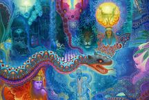 The Spiritual Realm / Inspirational collection of fantastic art.