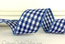 Cottage Crafts: Checks, Plaids & Tartans / by Cottage Crafts Online {Ribbons for DIY}