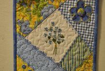 Mug rugs placemats