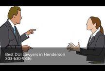 DUI Attorney Henderson