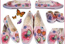 Lulush Painted Shoes