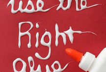 Glue Guide - Use the Right Glue for theJob + Free Printable glue chart