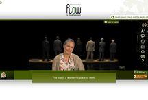 FLIGBY screens / User interface of FLIGBY online simulation