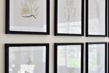 DIY Wall Art / Wall art that anyone can make to add a personal touch to their home decor.