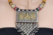 German silver & oxidized jewellery