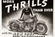 Vintage Harley-Davidson Advertising