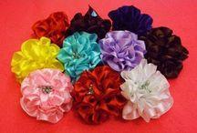 Květiny ze stuh