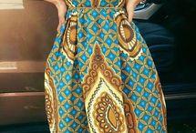 african print maxi