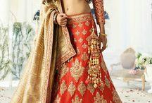 Bridal lenghas