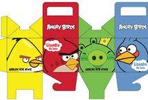 Angry birds / Festa infantil