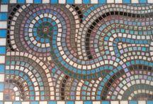 Zelfgemaakt mozaiek