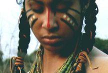 redindian makeup