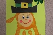 Leprechaun craft idea / this page has a lot of free Leprechaun craft idea for kids,parents and preschool teachers.