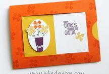 Stampin' Stuff-Slider Cards / by MaryAnn Hilleary