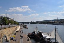 Prague..promenade / Walk along the Vltava