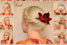 Hair styles for the wedding