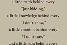 Sayings and More