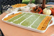 Football food / by Heather Havey