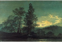 Art (trees, landscapes) / Works of art that I love, great impact on my soul! -trees landscapes