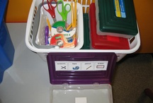 Task Box Ideas / Ideas for teachers to use in the special education classroom to build independence / by Samantha Roussell VandenHoek