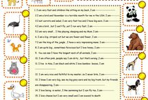 Animals riddles worksheet