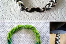 reinbow loom / gumicky
