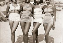 bathing suits / Oh, ruffles, how I love thee!    No 2 pieces for me - blech!   Seriously, the ones with knickers might possibly be just what I need. / by ༺♥༻ Charlotte Hill Edsall ༺♥༻