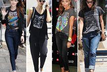 Band t-shirt fashion