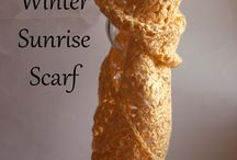 Scarves and mitts / Crochet