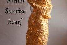 crochet scarfs / by Sharla Horner