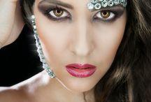 Extreme metal make-up - Fém és a szépség / Metal nuts & beauty theme