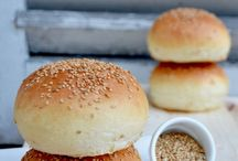 pains hamburger, foccacias