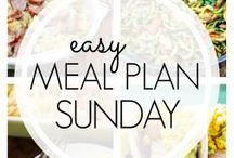 ** Easy Meal Plan Sunday **