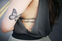 tatuaje mariposa / marictato