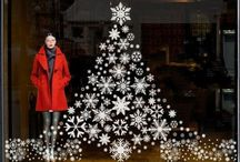 Christmas decoration for shops
