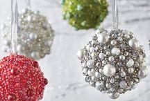 Christmas Pearls & Beads