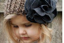 gorras y bufandas bebés y niños