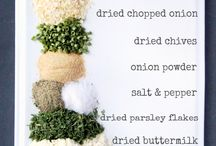 Recipes: Seasonings DIY