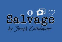 """""""Salvage"""" by Joseph Zettelmaier / We give you shots of the cast, as well as some behind-the-scenes pics of our production of """"Salvage,"""" which opens April 24th. pntheatre.org"""