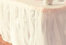 party tables / feestelijk gedekte tafels
