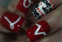 Stuff to Buy / False nails hand-painted/hair straightners