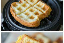 Waffles bread