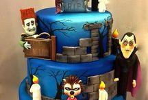 Spooky cakes