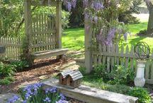 Puutarha / Ideoita puutarhasn