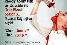 Fang Banger Party Ideas / Throw a party worthy of Bon Temps and True Blood enthusiasts.