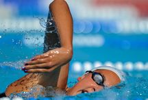 Advanced Swim Workouts / We're so proud you keep challenging yourself!  Swimmers are known to eat, sleep, swim.  As we add on some more yardage, you'll understand why.  These advanced workouts contain distances between 2800-4000 yards/meters.
