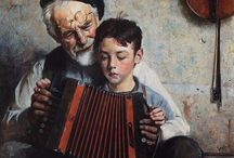 Norman Rockwell paintings